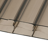 16mm Bronze Multiwall Polycarbonate Sheets