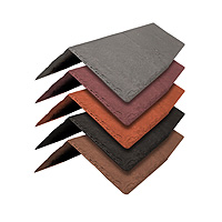 5 x Tapco Slate Synthetic Ridge Tiles