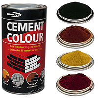 Black Powdered Cement Dye (1 Kg)