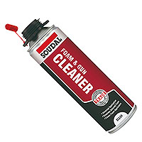Soudal PU Expanding Foam and Gun Cleaner