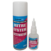 Mitre Kit Superglue and Activator