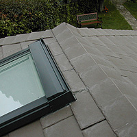 Roof with Tapco Slate Tile