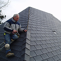 Complete synthetic roof system