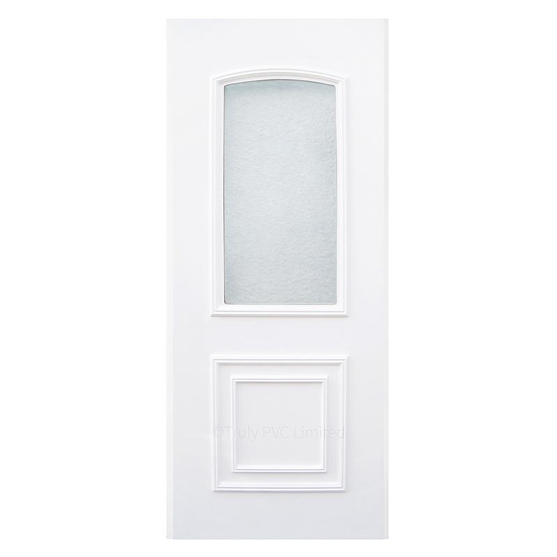Classic glazed uPVC door panel