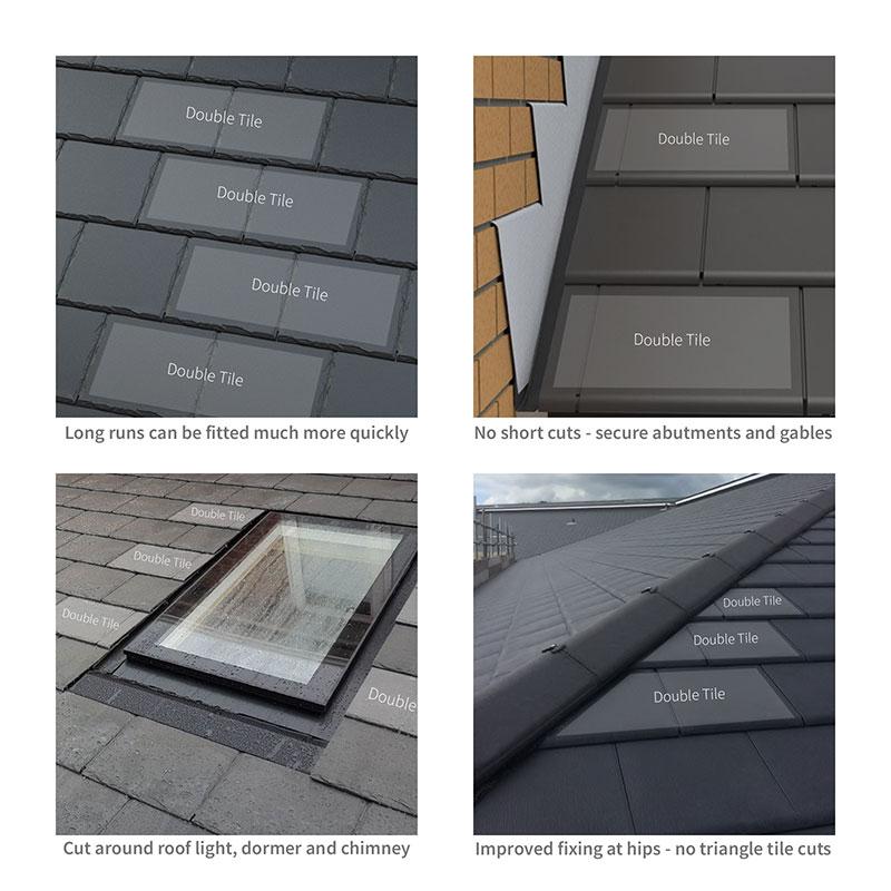 Usage of Envirotile Double Tiles