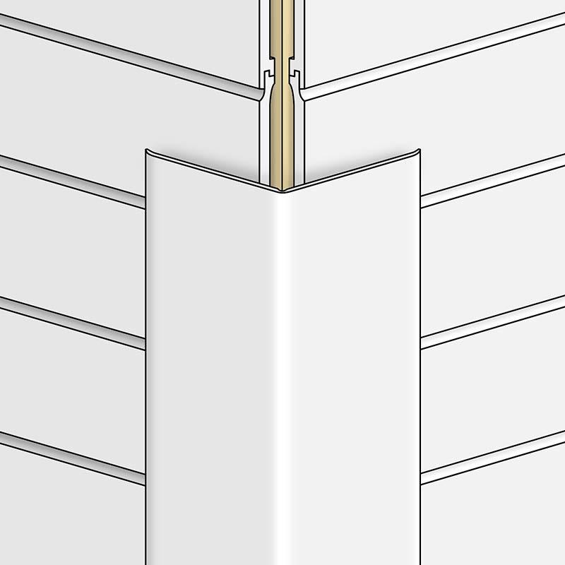 Flexi Angle Adjustable uPVC Plastic Corner Trim
