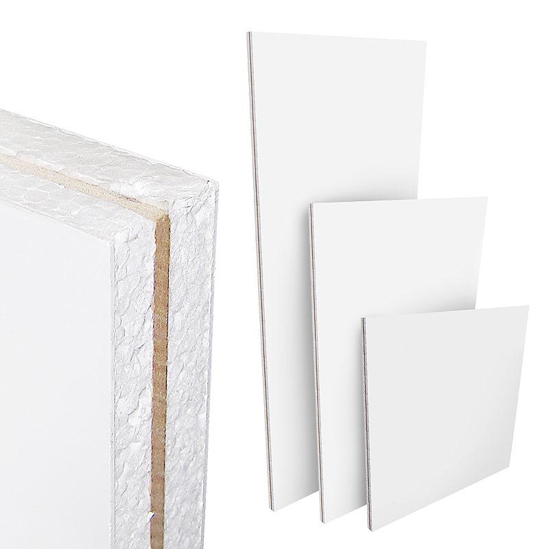 Pvc Panel Doors : White upvc flat door panel mdf reinforced mm