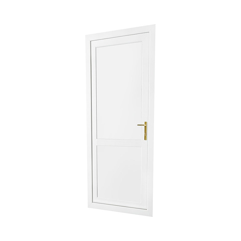 Flat white upvc door panel truly pvc supplies truly pvc for Upvc doors fitted