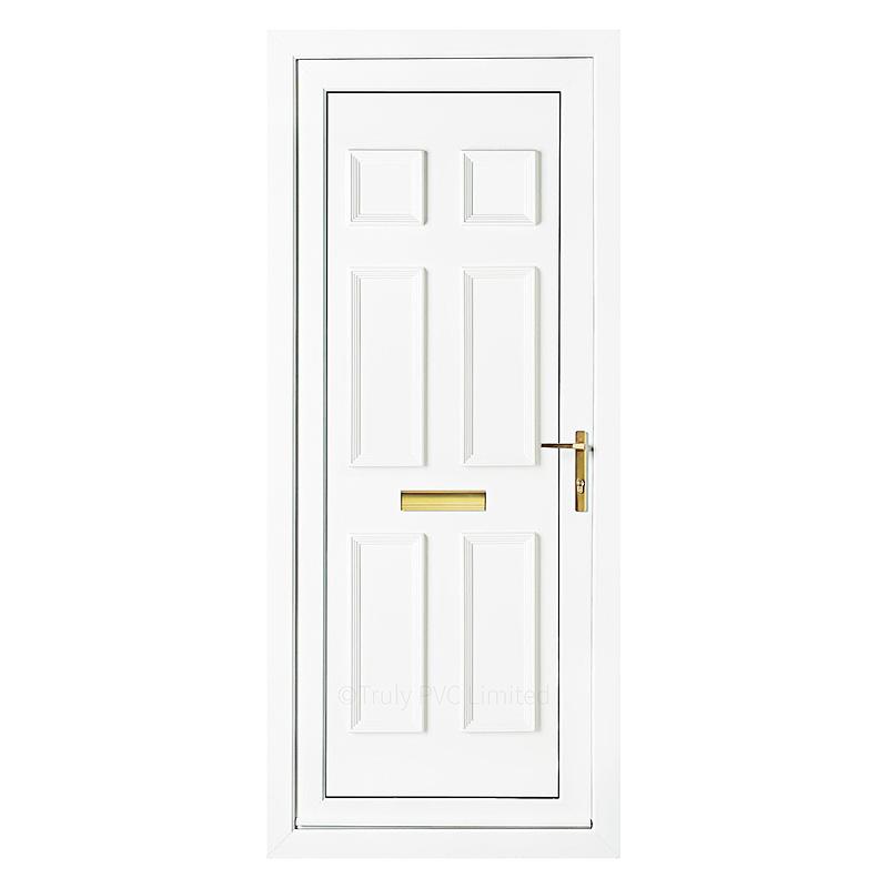 Pvc Panel Doors : Windsor solid upvc door panel truly pvc supplies