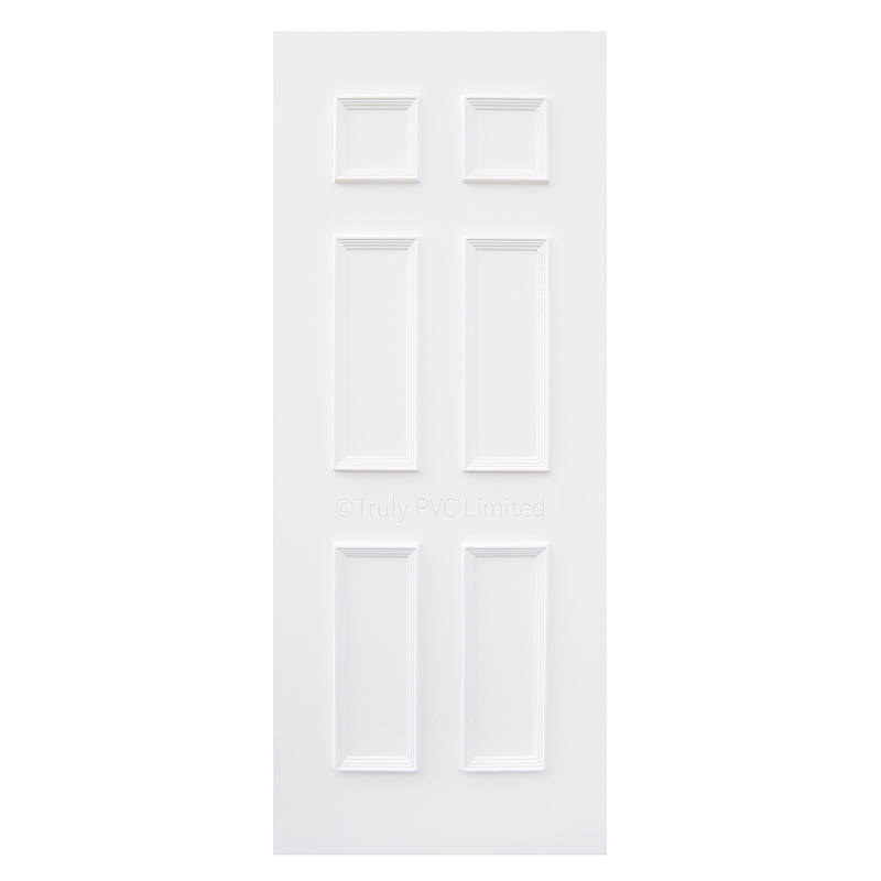 Solid moulded door panel