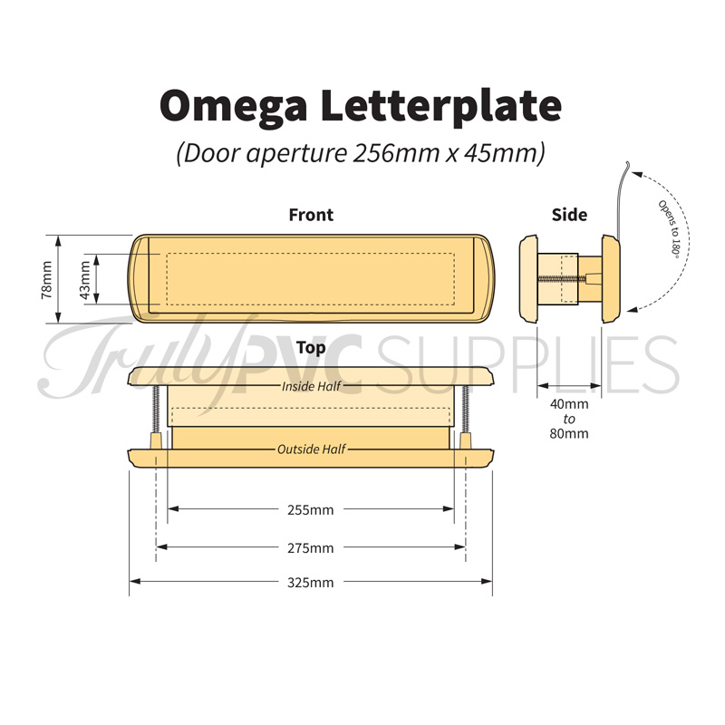 Dimensions of the Omega 12