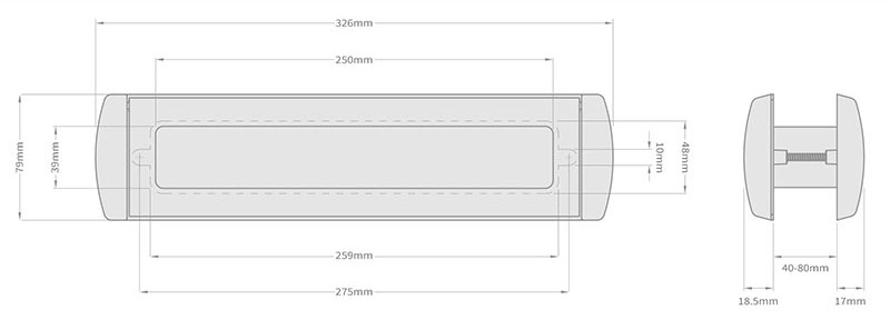 Dimensions of the new Omega 12