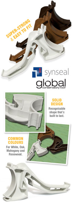 Synseal Global XGC5 Gutter Brackets (5 Pack)