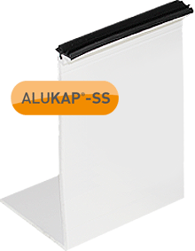 ALUKAP-SS Self-Supporting Wall/Eaves Beam L-Cap Bar