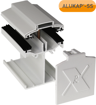 ALUKAP-SS Self-Supporting Low Profile Main Bar