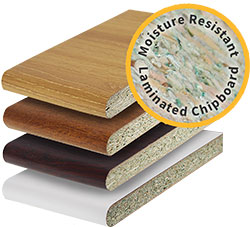 Moisture-Resistant Laminated Window Board
