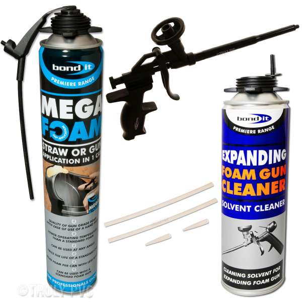 Mega Foam Teflon Expanding Foam Kit (1 Can)