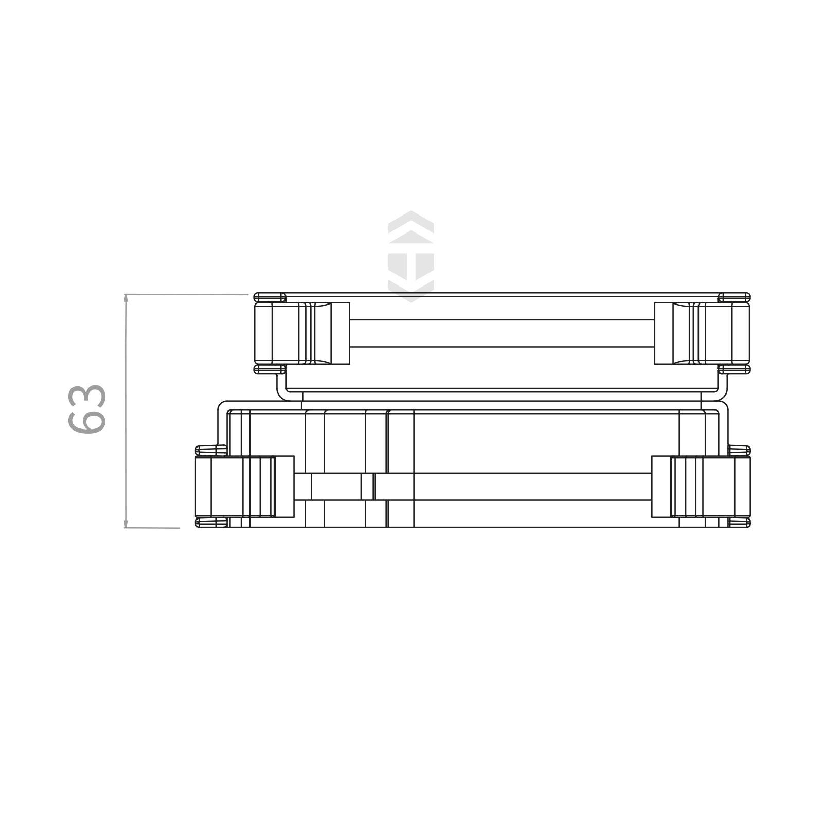 Marshalltufflex Rwkd6wh Universal Plus Adapter Truly Pvc