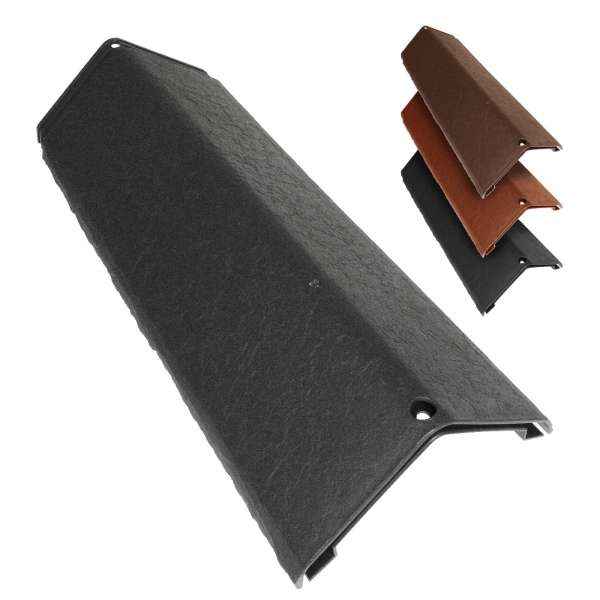 Envirotile Hip Cap for Synthetic Plastic Roof Tile