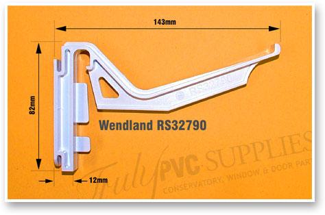 Wendland Rs32790 Conservatory Gutter Brackets 5 Pack