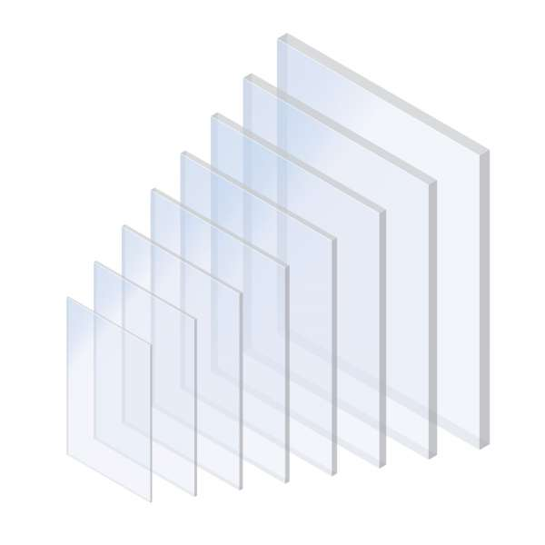 Clear Transparent Axgard Solid Polycarbonate Sheet