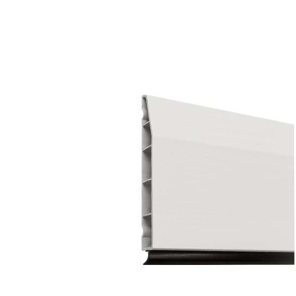 White Chamfered Roomline Skirting Board uPVC Plastic