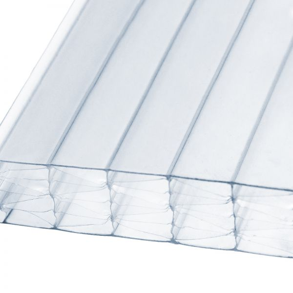 25mm Clear Multiwall Polycarbonate Sheets