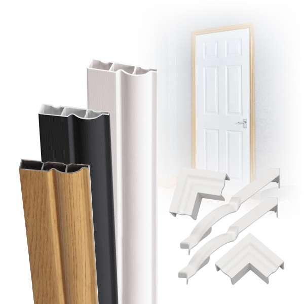 Complete Torus Ogee Plastic Door Architrave Kit