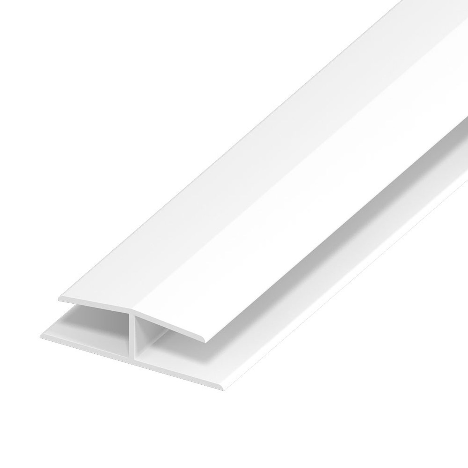 H Section Panel Joint For 9mm Upvc Soffit Board White