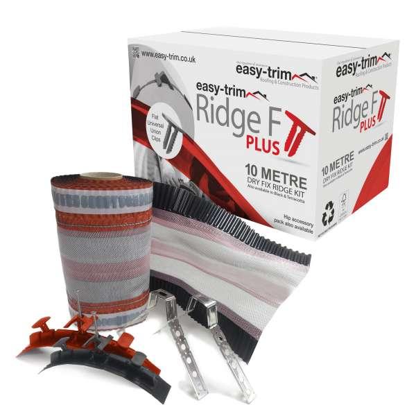 10m EasyRidge F PLUS Dry Fix Ridge Kit