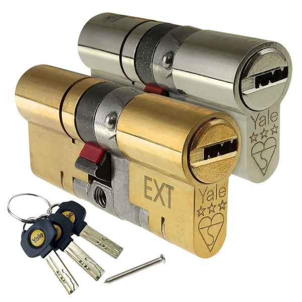 Yale Platinum 3 Star Euro Cylinder