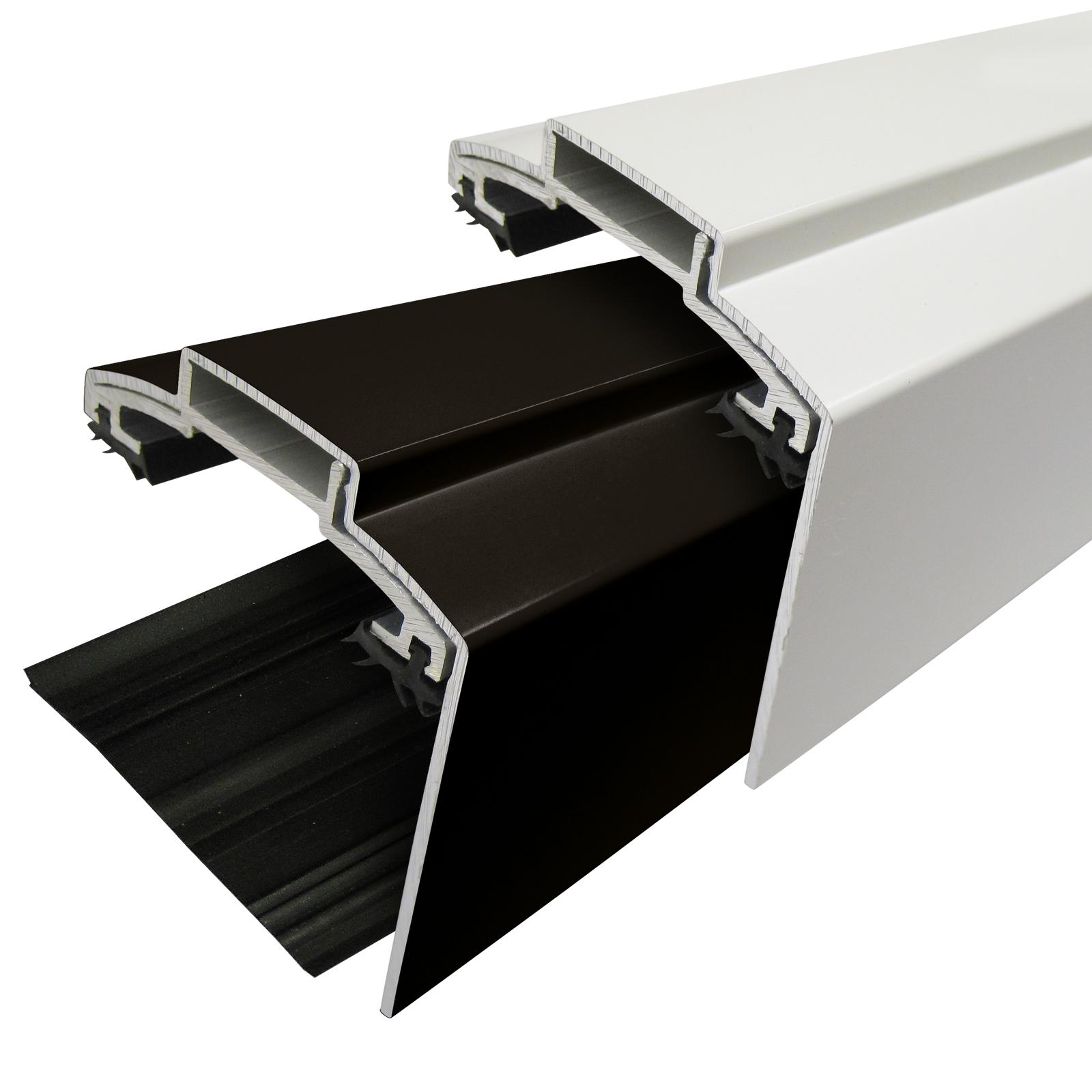 60mm Alukap Xr Aluminium Screw Down Gable Bar For