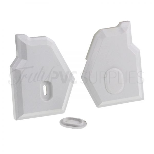Synseal XLEC1 Gable Bar End Caps (Pair)