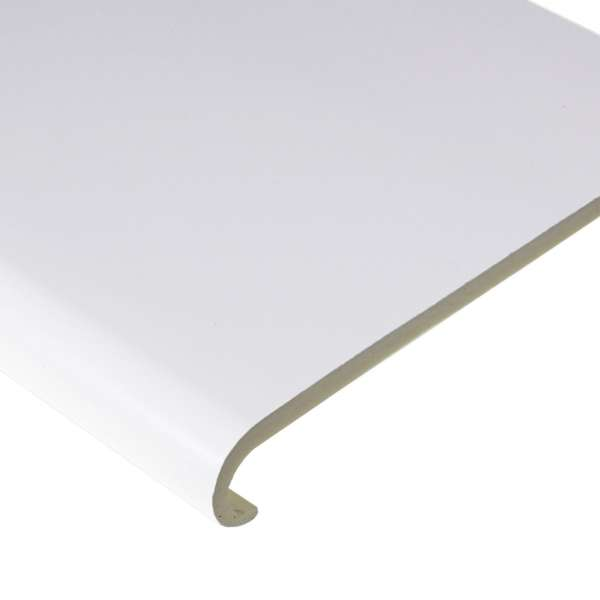 White Bullnose Capping as Window Board Cover