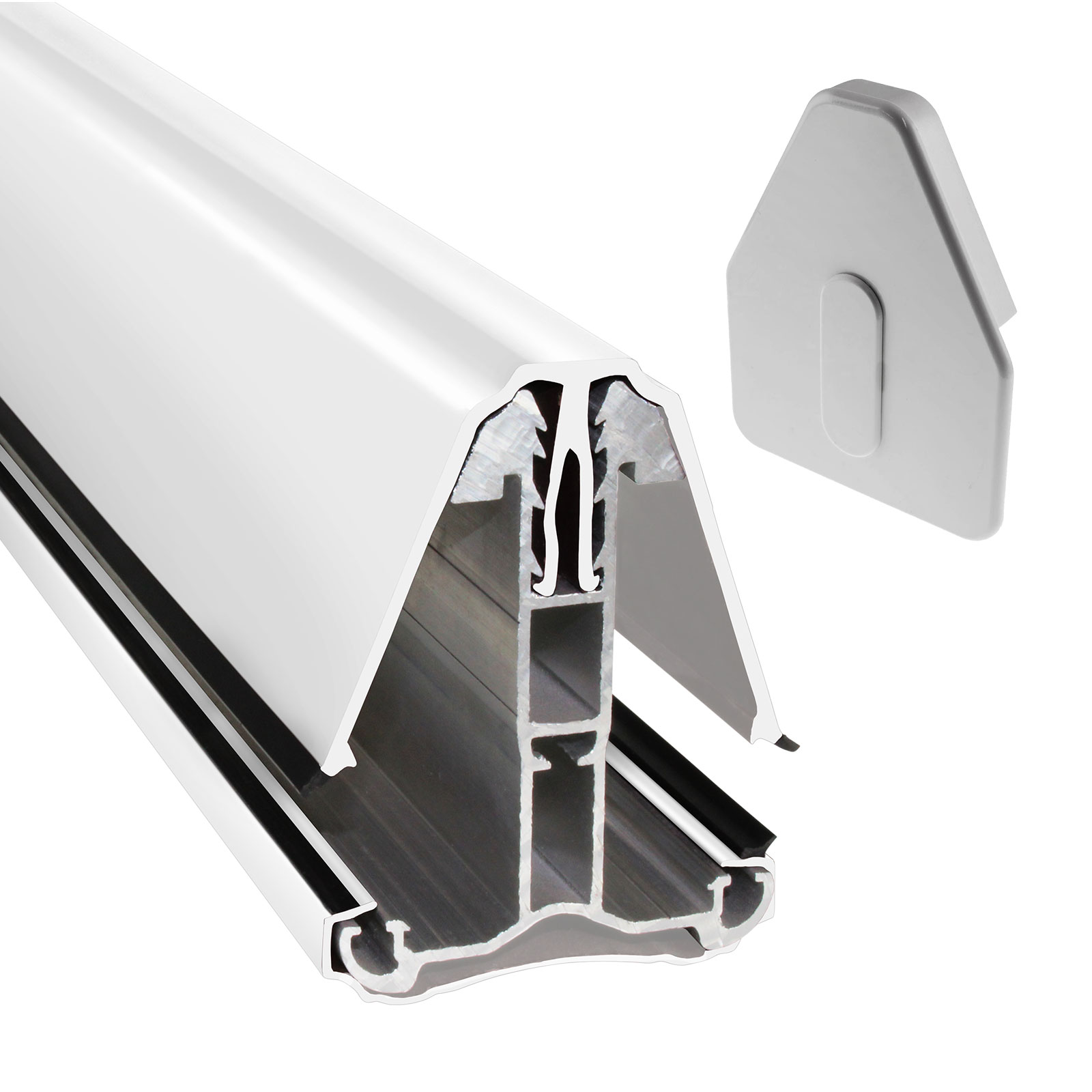 Intermediate Main Bar For Heavy Duty Self Supporting Roof