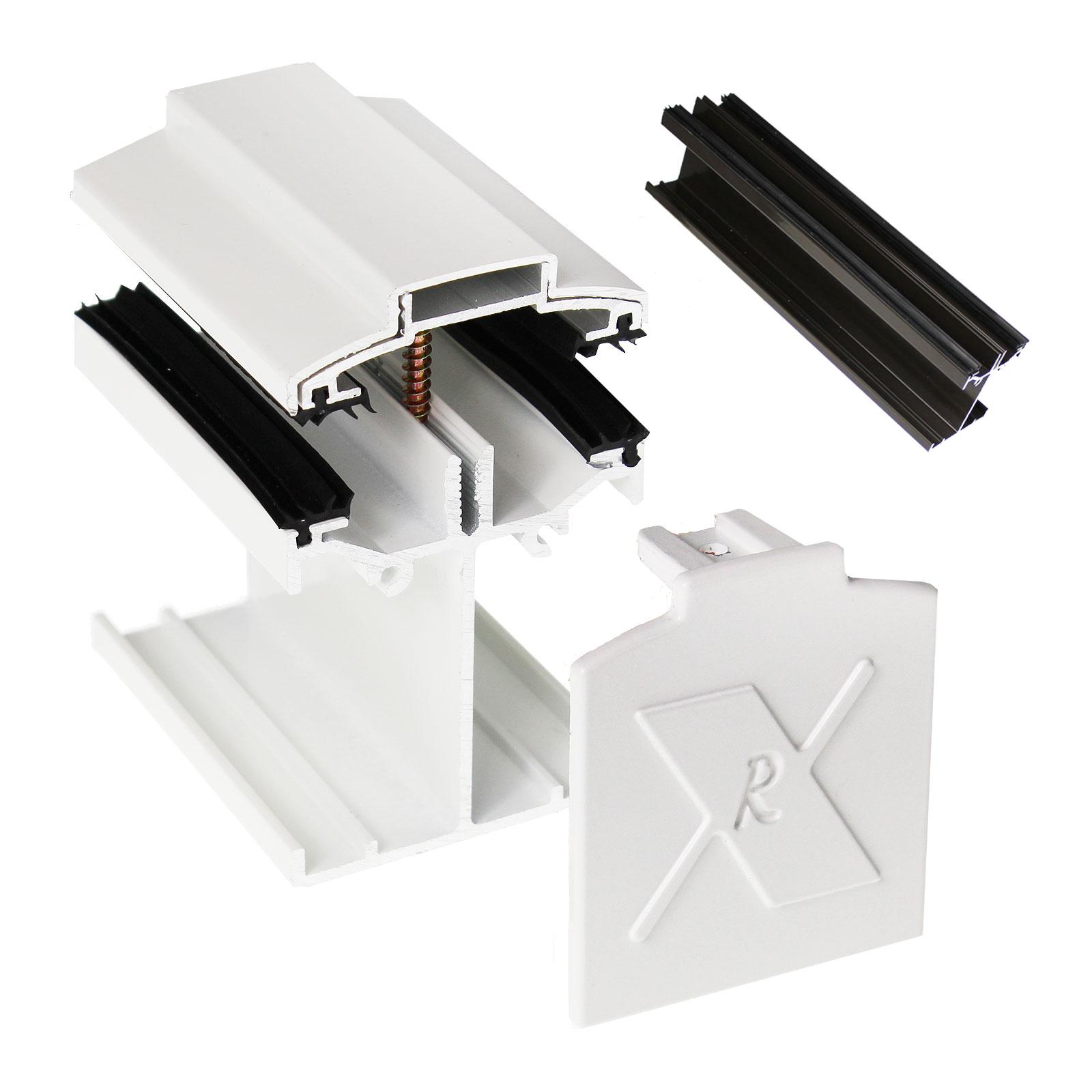 Alukap Ss Low Profile Main Bar Truly Pvc Supplies