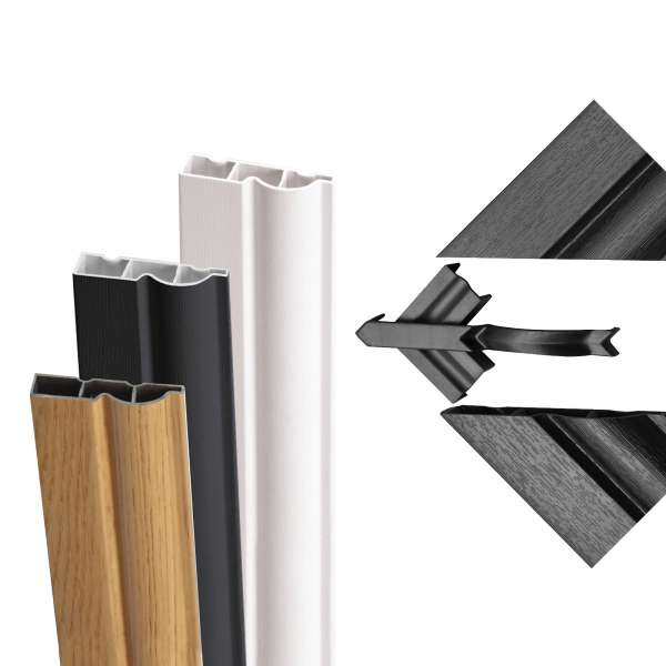 Small Sample Pack of Torus Ogee Door Architrave from Roomline