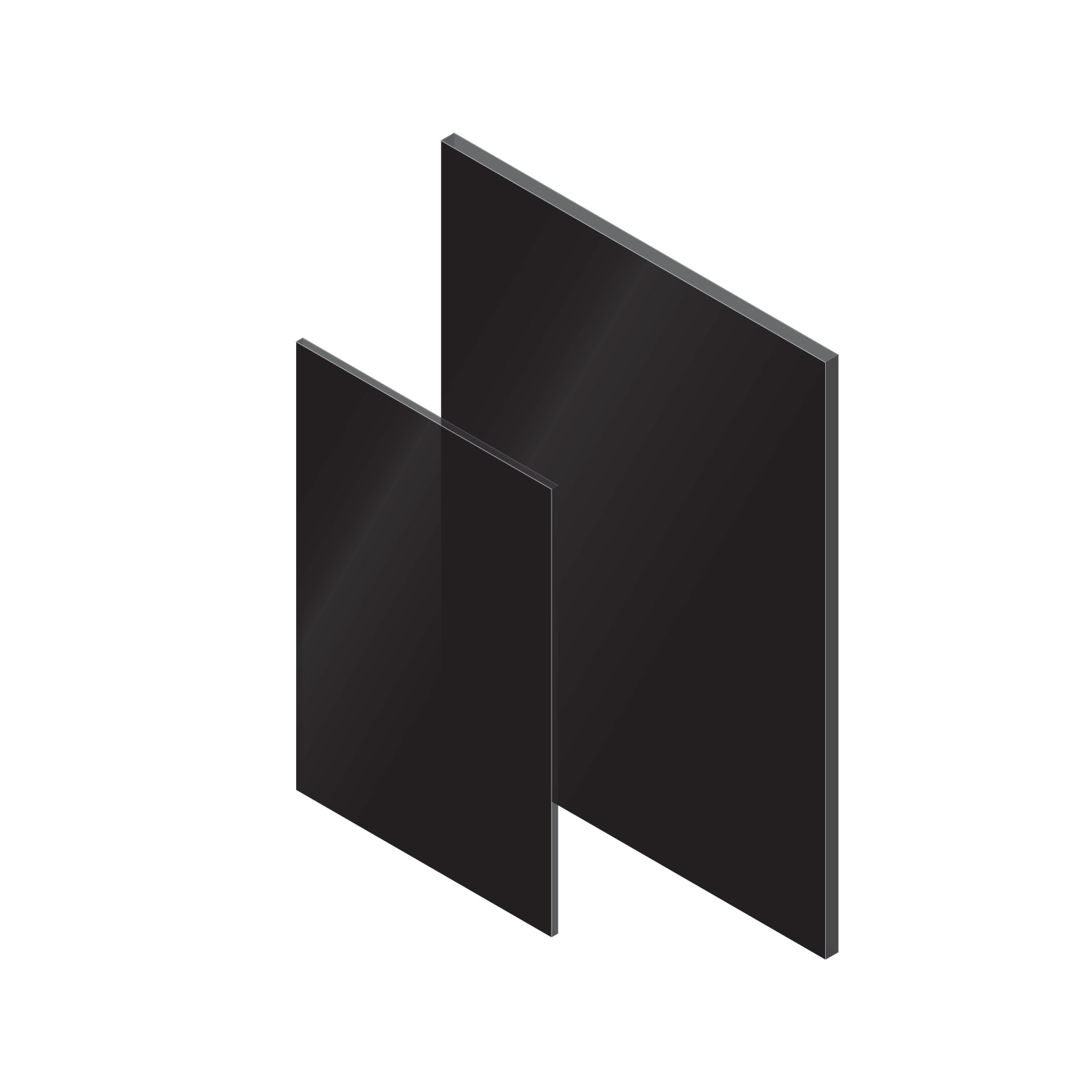 Black Axgard Solid Polycarbonate Sheet Solid