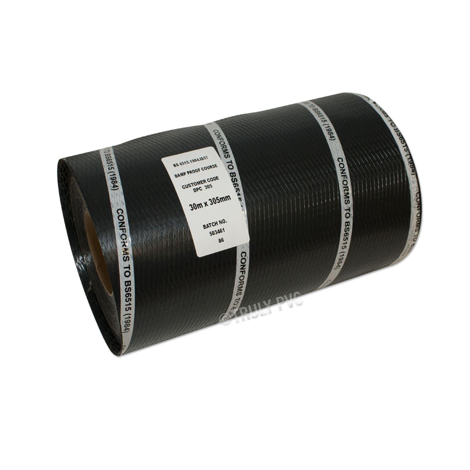 300mm X 30m 12 Damp Proof Course Dpc Membrane Truly Pvc