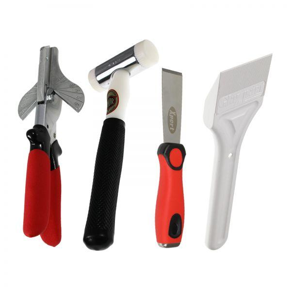 Hammer, Chisel, Shovel & Shear Tool Kit