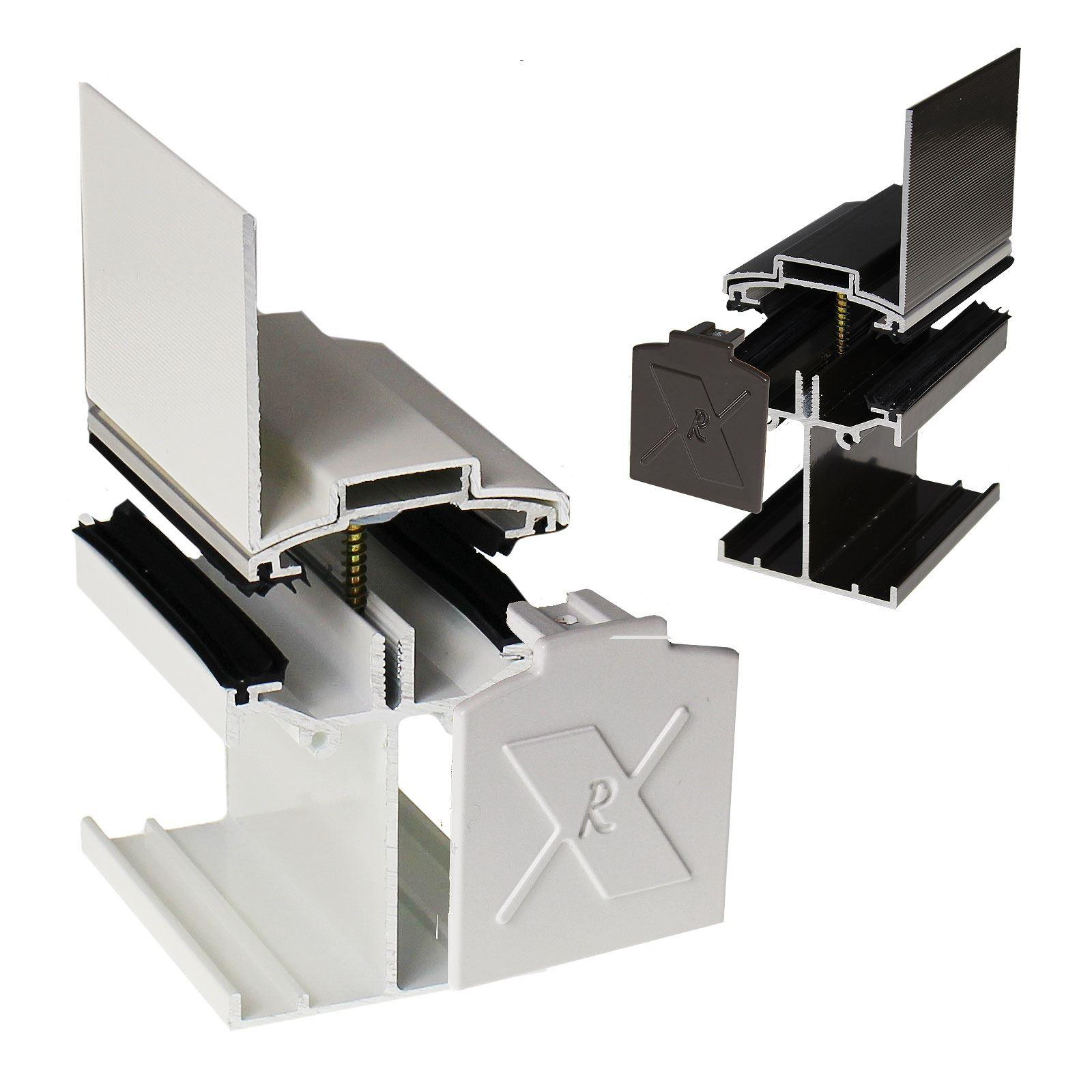 Alukap Ss Low Profile Wall Bar Truly Pvc Supplies
