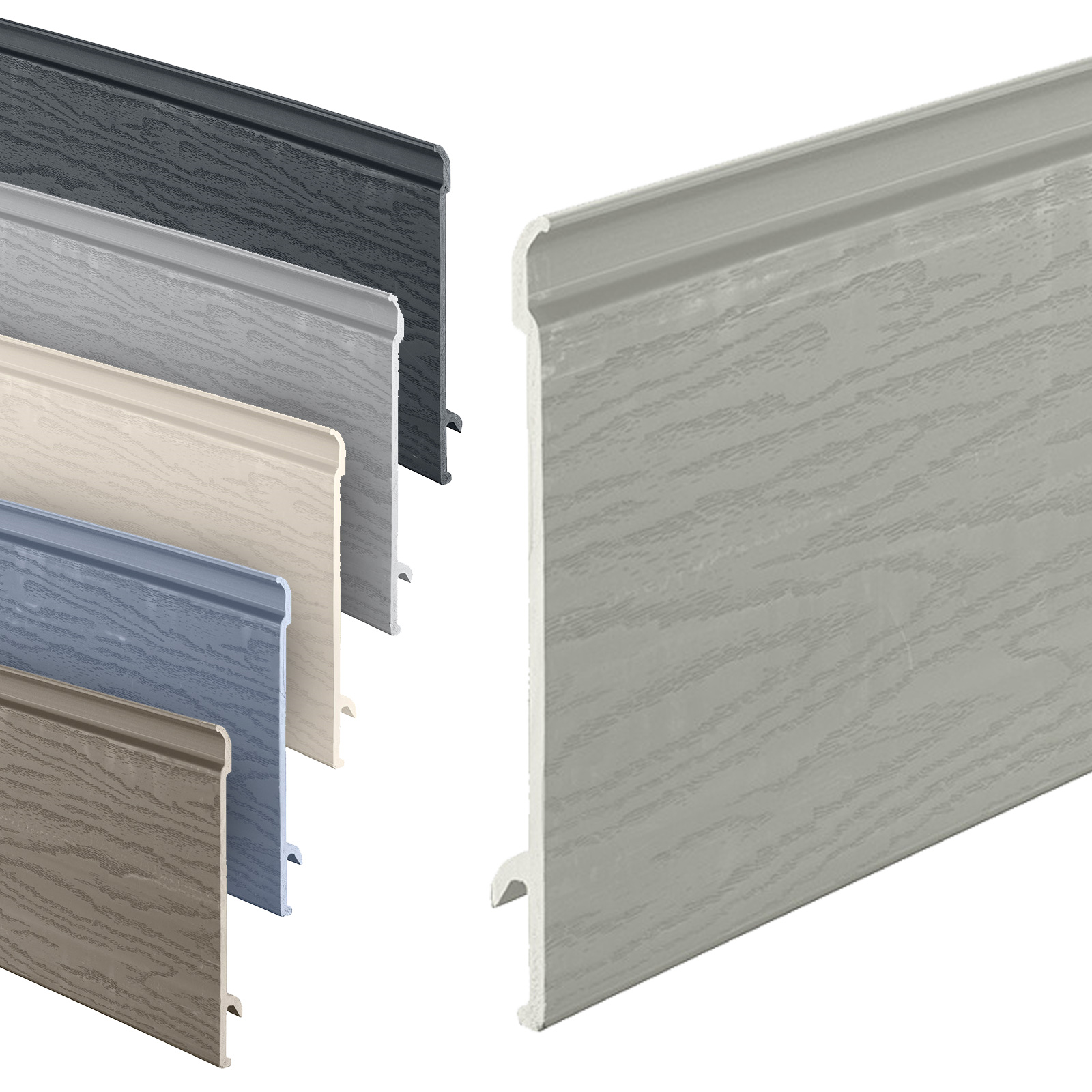 Composite Shiplap Cladding Boards