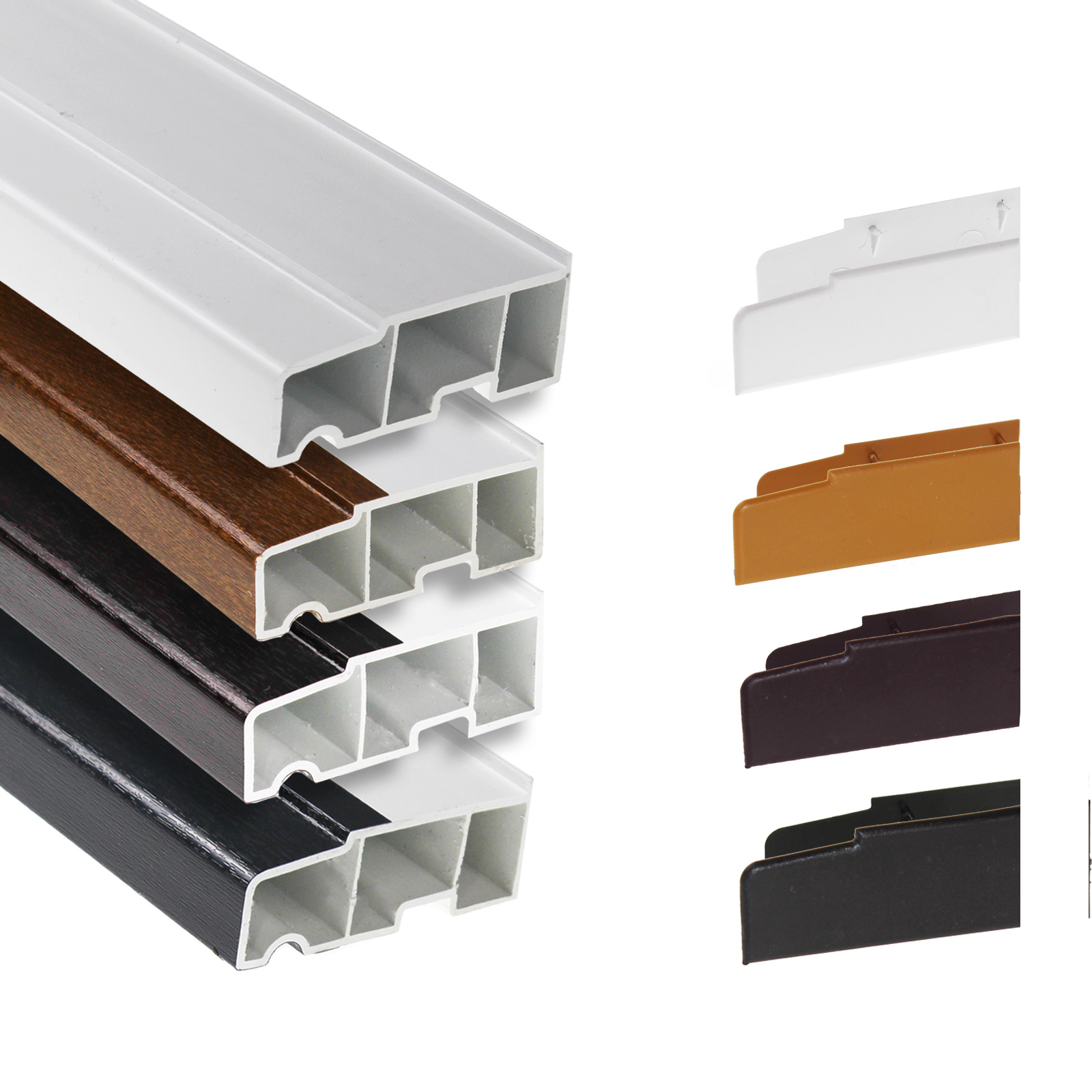 85mm Stub Window Sill With End Caps Truly Pvc Supplies