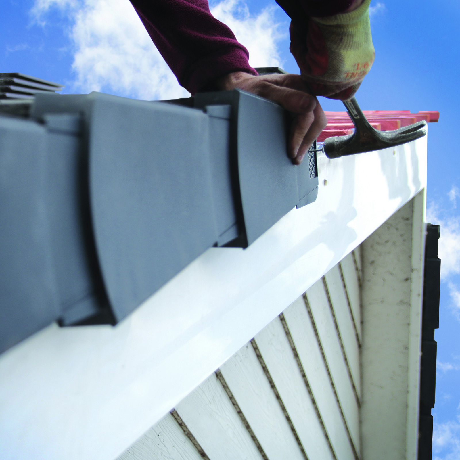 Easyverge U Universal Roof Dry Verge Kit 10 Units Domed