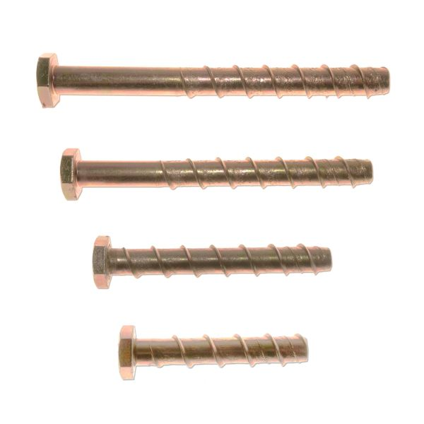 M10 Self-Tapping Concrete Anchors (5 Pack)