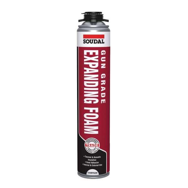 Gun Grade Soudal Gap Filler PU Expanding Foam
