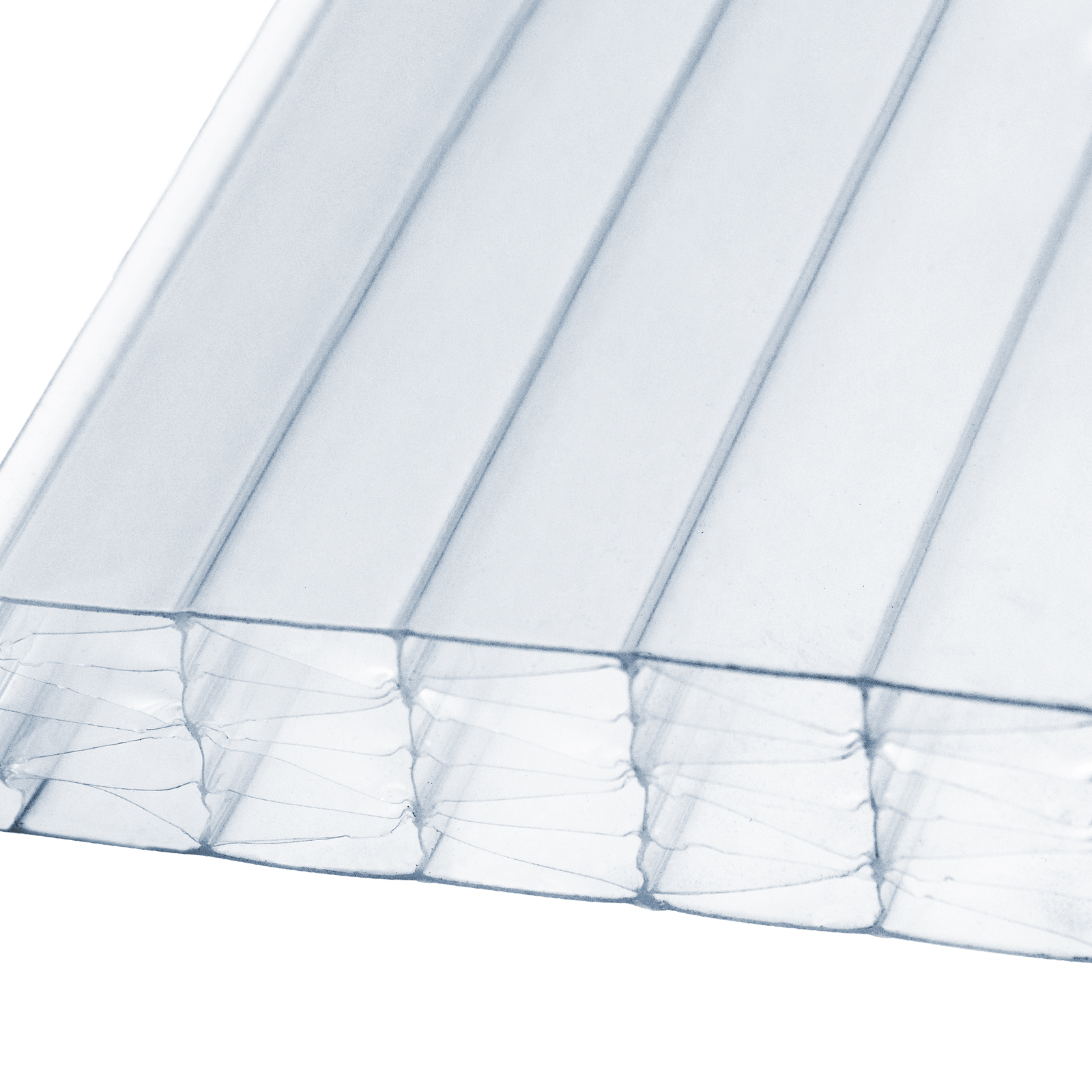 25mm Clear Polycarbonate Multiwall Sheets Truly Pvc