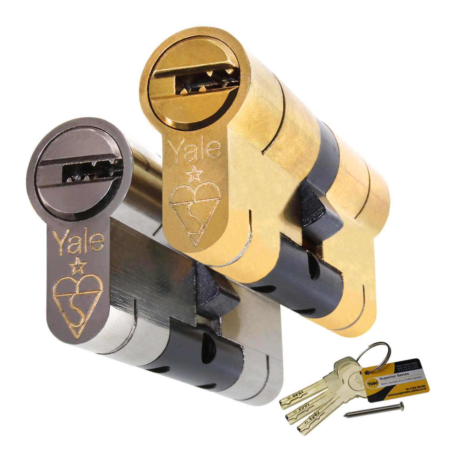 Yale Superior Euro Cylinder Truly Pvc Supplies