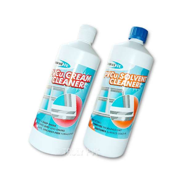 PVCu Solvent Cleaner + Cream Cleaner