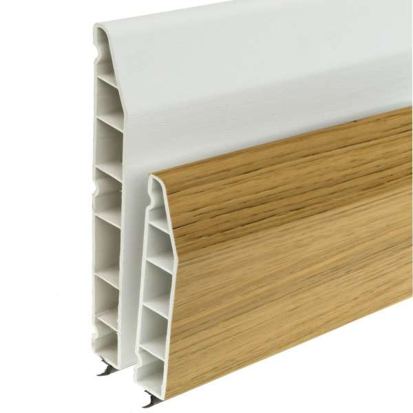 Chamfered uPVC Skirting Board (5m)